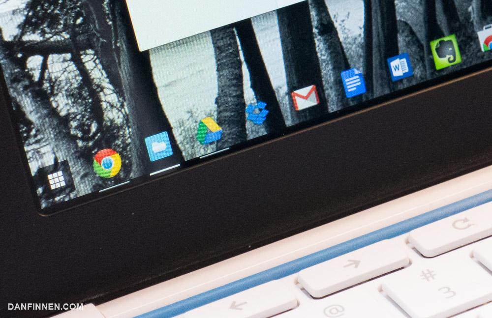 Chrome OS has a Windows 7-esque navbar that works well and looks good.
