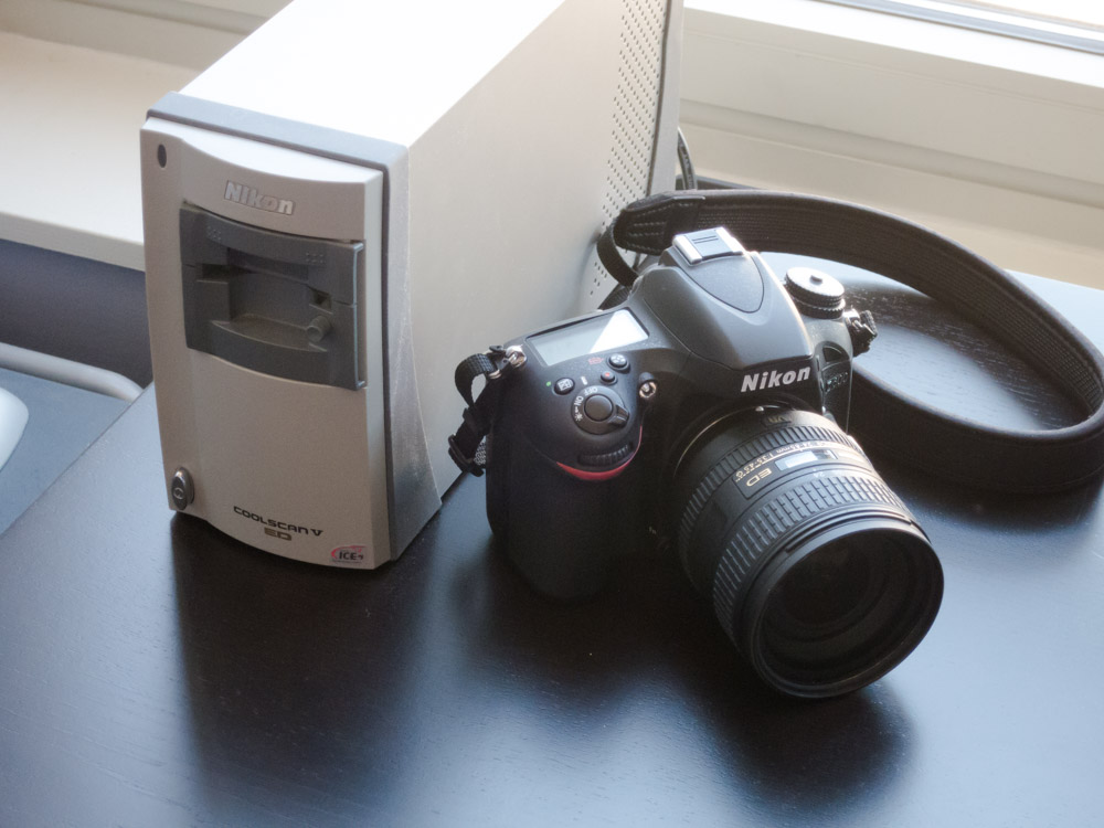Two contraptions Nikon has happily rescued from the dead.