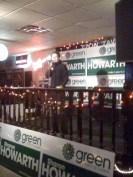Sharon Howarth on stage at Laugh till You're Green