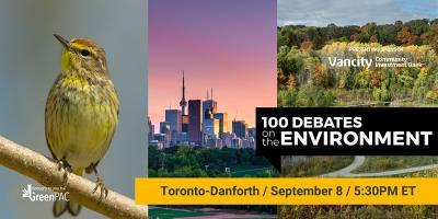 Toronto-Danforth debate on the environment 2021