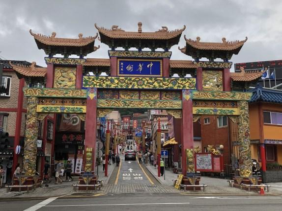 仁川中華街の正門