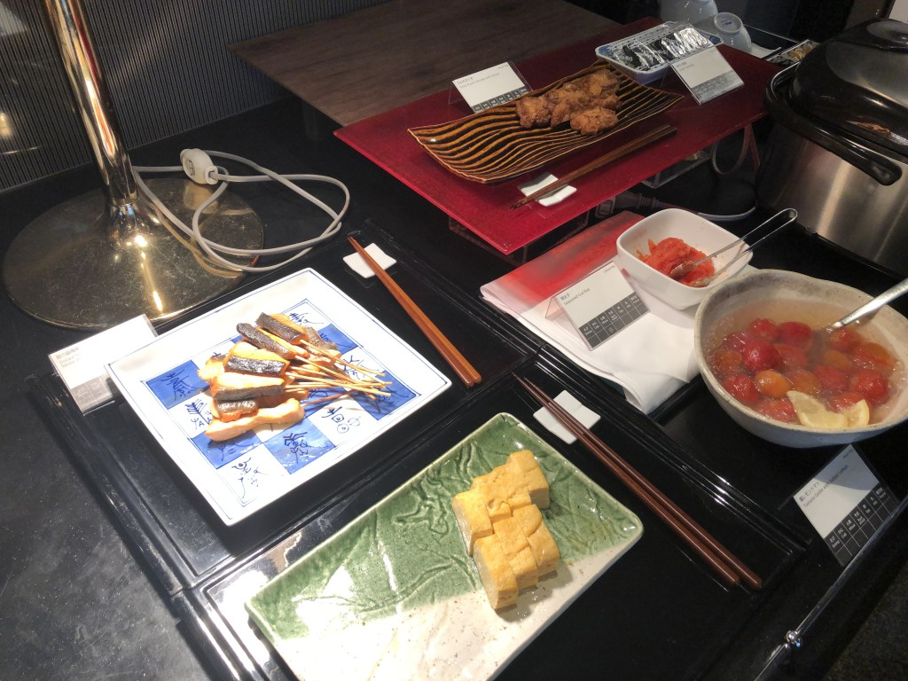 ANA SUITE LOUNGEの朝食