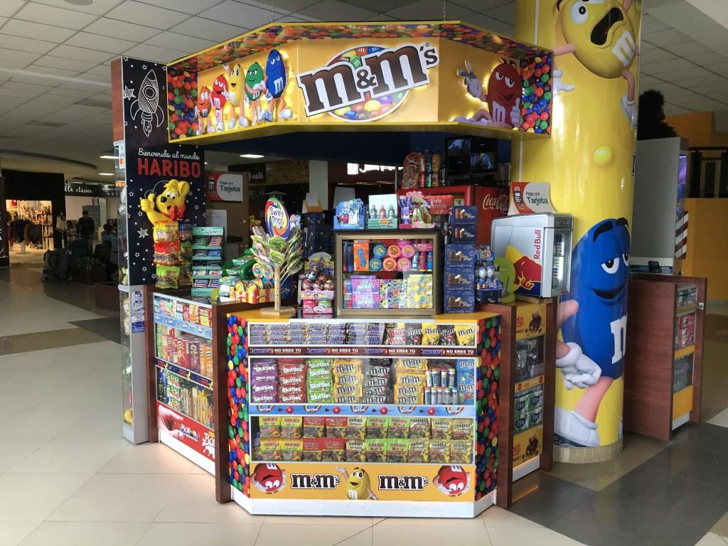 エルアルト国際空港あるチョコレートショップ