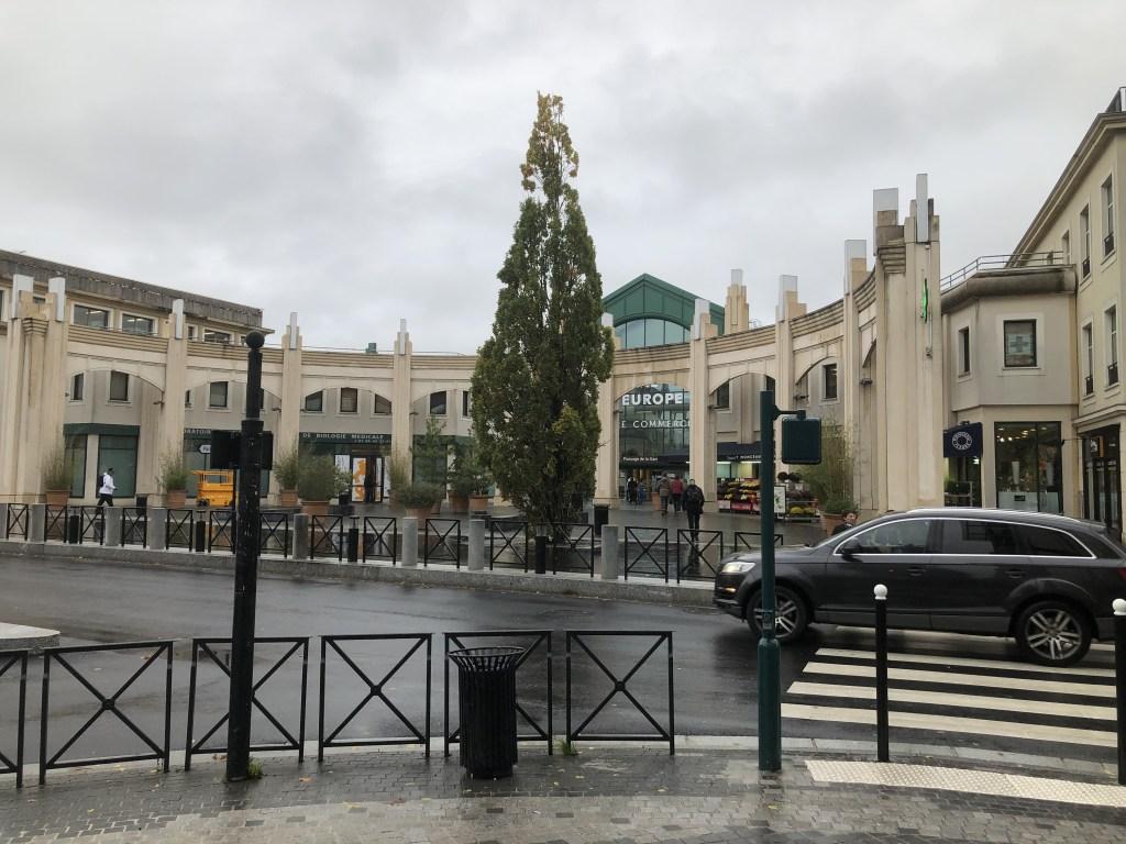 Val'd Europe駅~アウトレットへのアクセス案内(3)