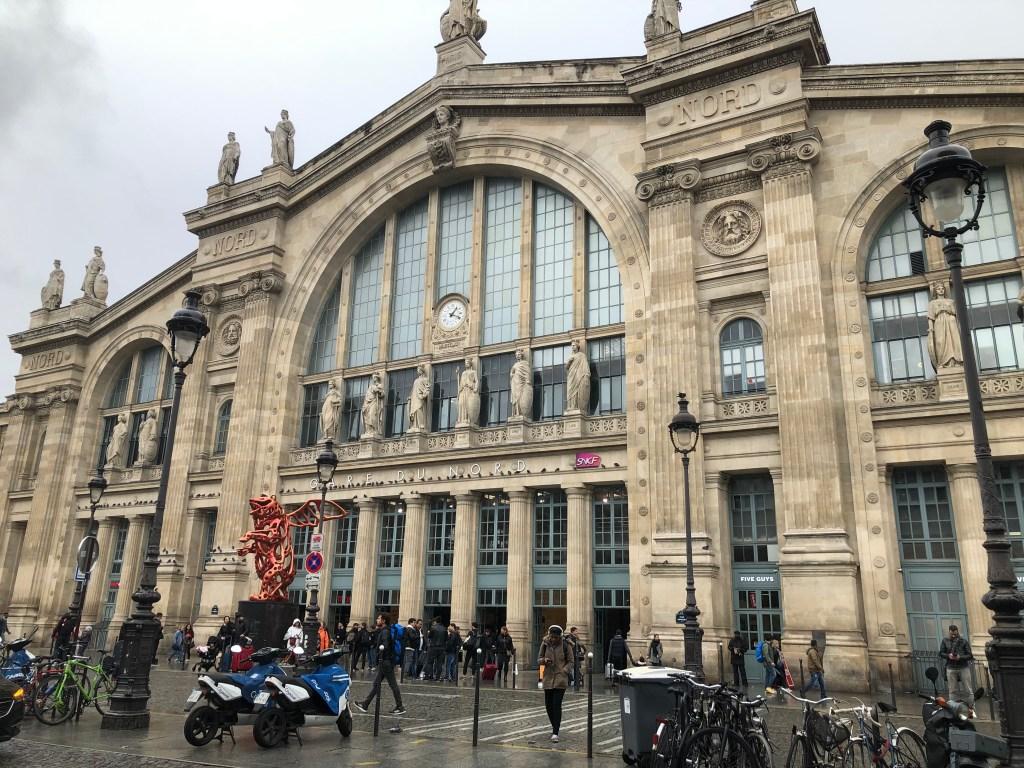 パリ北駅の外観