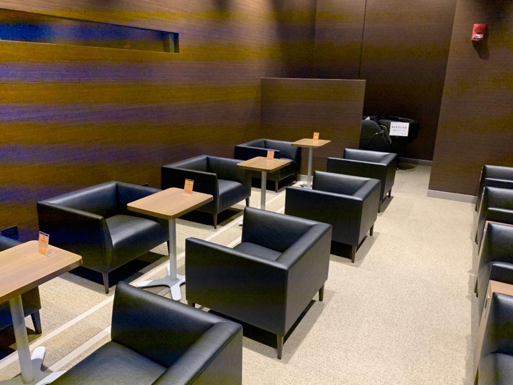 楽天カード アラモアナラウンジに設置されているPremium Room内部の様子