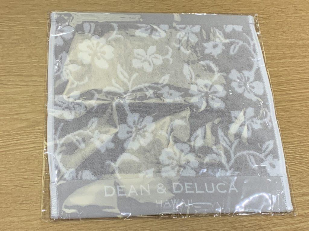 福袋戦利品(3) ディーン&デルーカ ハワイ2周年限定グッズのハンドタオル