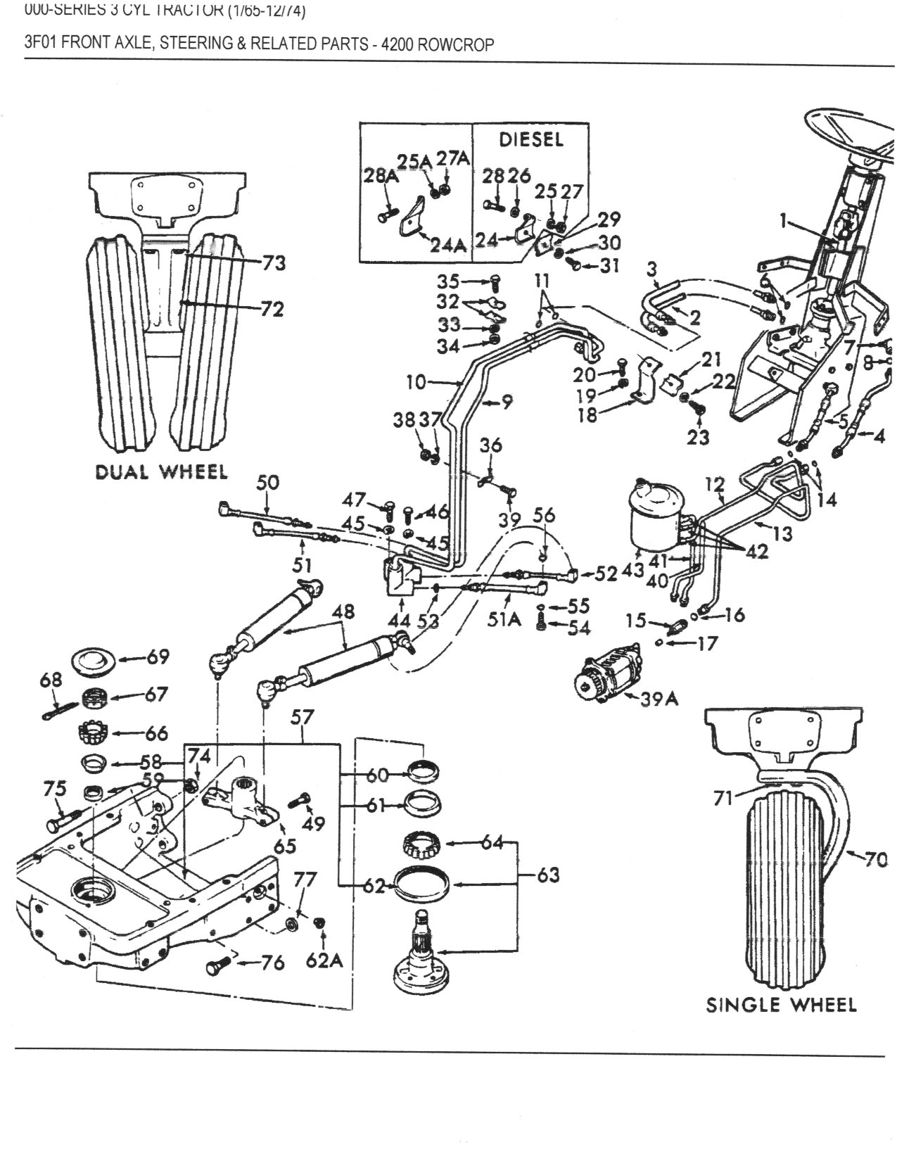 Wiring Diagram For A 1964 Ford 4000 Tractor 4000 Tractor