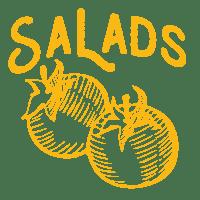 Salad Menu at D'Angelos Pizza