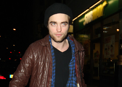 Rob Pattinson is suspicious.