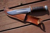 Resurrected bowie knife.