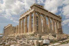 Parthenon by Kallistos via Wikimedia Commons
