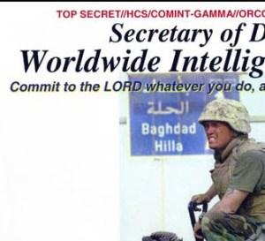 Secretary of Defense religious memos - Click to go to GQ for full article