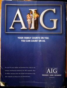 AIG ad - 2005