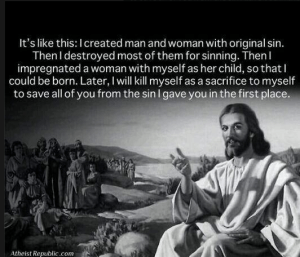 Jesus explains his birth and death