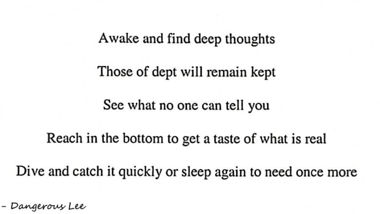 Despair poem