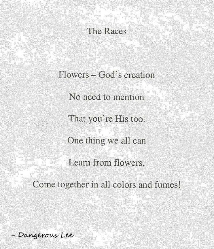 The Races poem