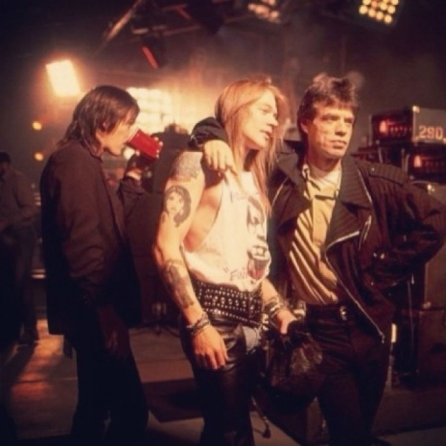 The moment Axl Rose and David Bowie came to blows over Erin