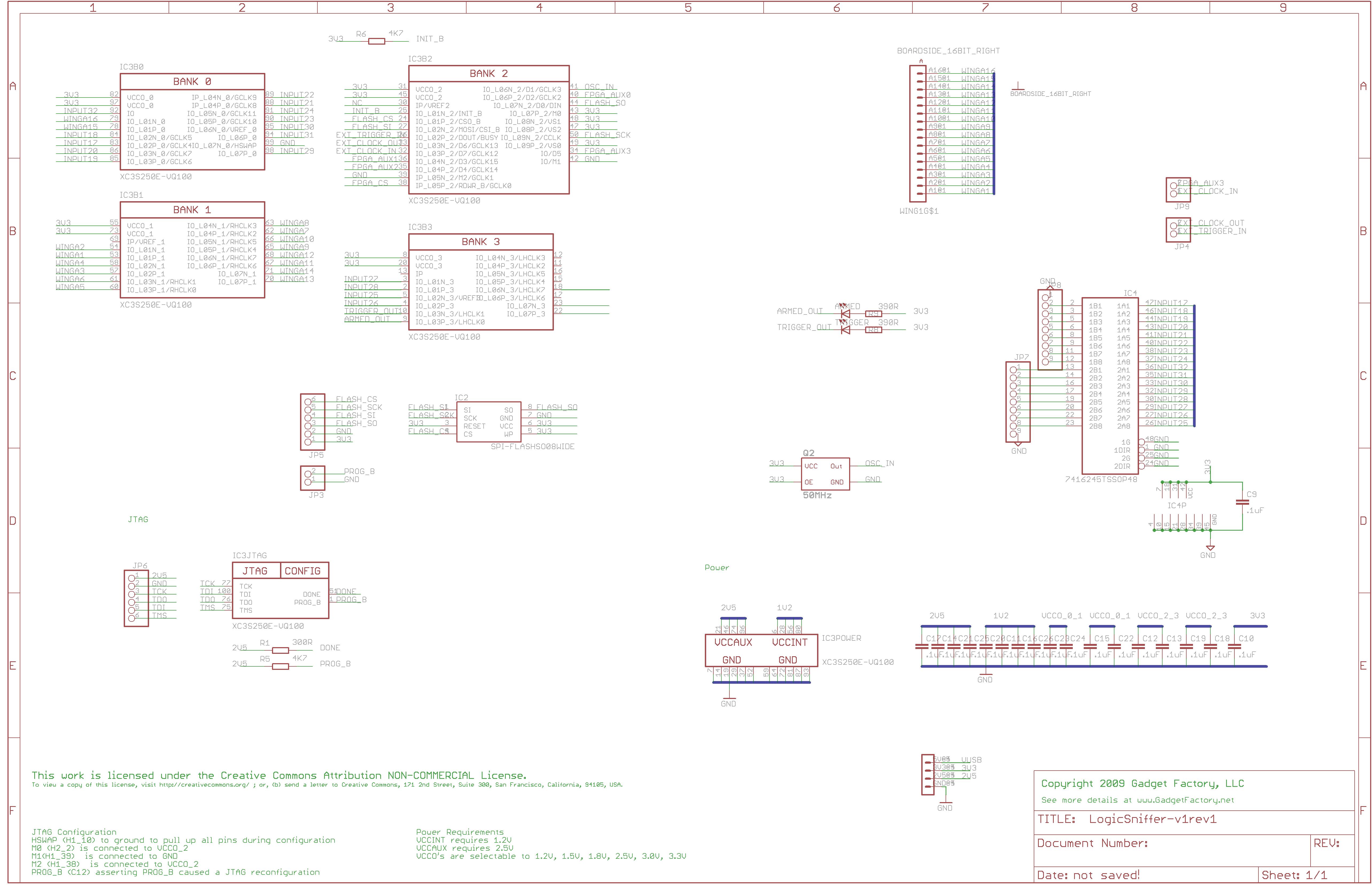Prototype Openbench Logic Sniffer Logicyzer
