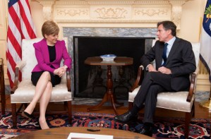 Nicola Sturgeon on dangerous women: 'we can change the world and our place in it'.