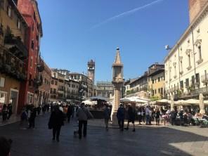 Marktplatz von Verona