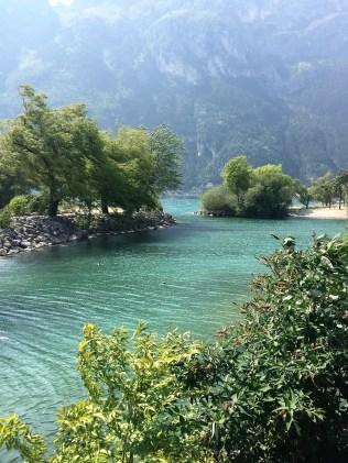Lagune in Riva de Garda