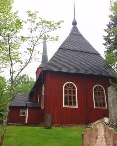 Holzkirche in Kristinestad