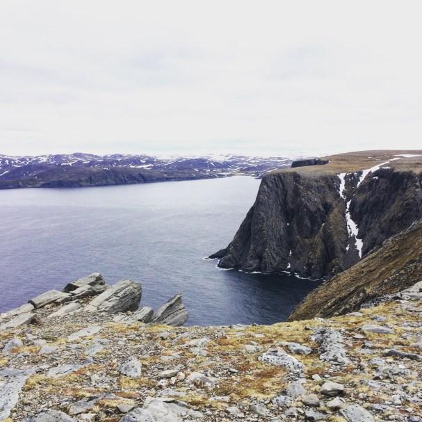 Klippe am Nordkap