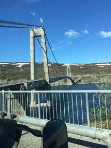 nördlichste Hängebrücke
