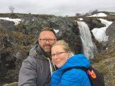 Wasserfall am Canyon