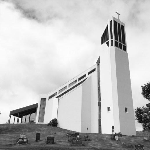 Kirche auf den Lofoten