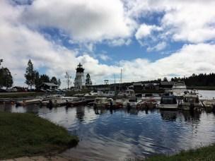 ältester Leuchtturm Schwedens in Jävre