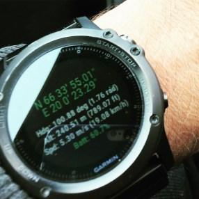 GPS am Polarkreis