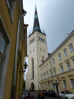 höchster Kirchturm von Tallinn (Estland)