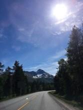 Norwegen im Sonnenschein