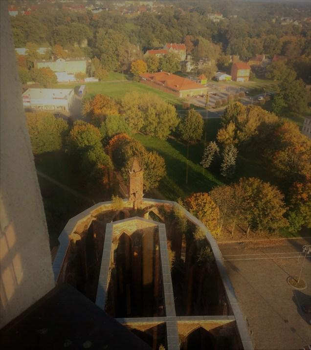 Aussicht Stadtkirche Gubin