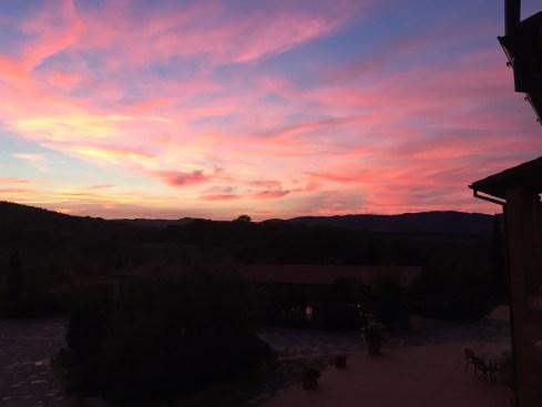 Lieblingsfarbe - Sonnenuntergang