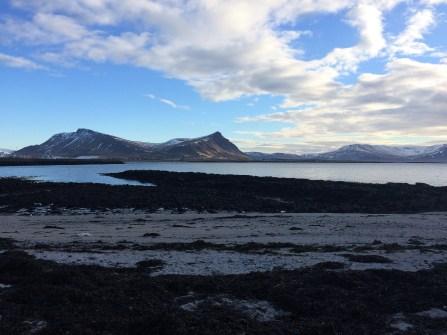 Island bei Akranes