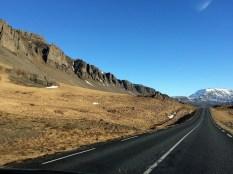Island aus dem Auto
