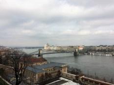 Budapest -Blick auf die Pest-Seite