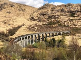 Harry Potter Brücke - Glenfinnan Viadukt