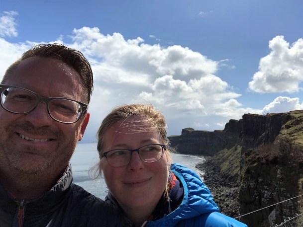 An den Klippen auf der Isle Skye