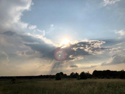 Wolkenphönix am Gräbendorfer Se