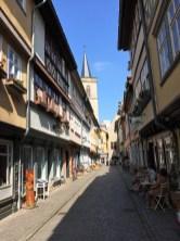 Erfurt - auf der Krämerbrücke