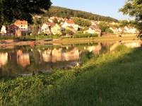 Stellplatz am Neckar