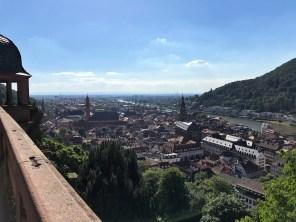 Sicht über Heidelberg