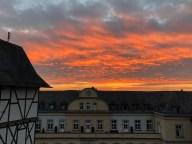 Sonnenuntergang in Wetzlar