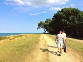 Strandweg bei Gut Oehe