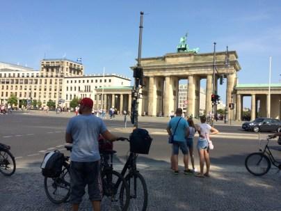 Fotopause Brandenburger Tor
