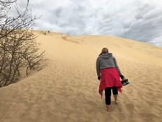 Dune de Pilat - der Aufstieg